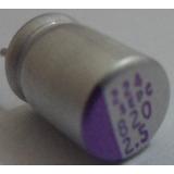 Capacitor Eletrolítico Sólido 820uf 2.5v Kit C/ 10pçs.