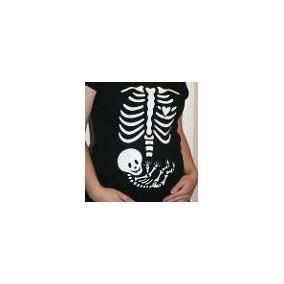 Blusas Maternidad, Baby Shower, Embarazo Esqueleto Bebe