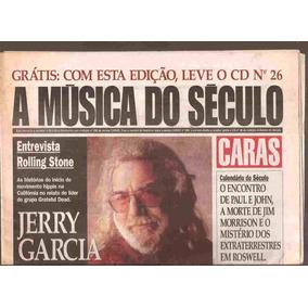 Jornal A Música Do Século - Jerry Garcia Não Tem Cd