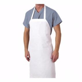 Avental Impermeável De Pvc C/ 10 Unidades Cozinha E Açougue