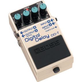 Boss Digital Delay Dd-7: Pedal De Delay P/ Guitarra|baixo