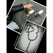 Collar -hombre-rosario