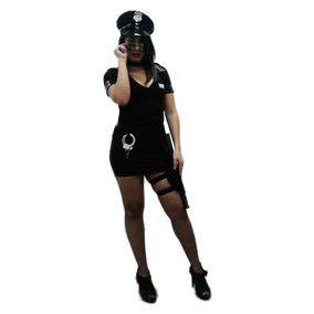 Fantasia Policial Adulto Feminina Completa