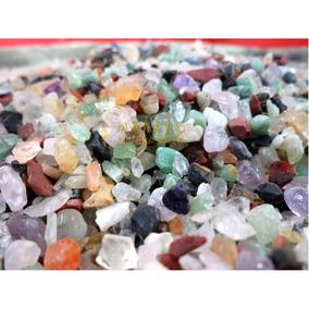 Cascalho Pedras Semi Preciosas Decoração Aquário 4 Kg