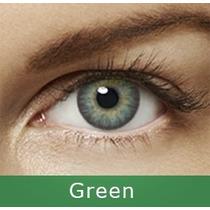 Freshlook. Lentes De Contato Verde Green 1ano, Brinde+ Estoj