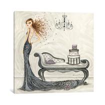 Pintura Arte Fabulous Fabiana Canvas Art Print By Bella Pil