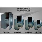 Extractor De Aire Industrial Cmv40 Motor 3 Hp Marca Siemens