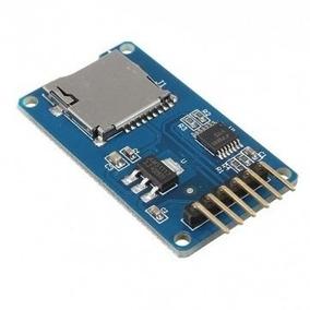 Leitor Gravador Micro Sd _______ Pra Arduino Microsd Nodemcu