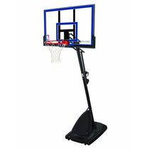 Exclusiva Canasta Portátil De Acrílico Spalding Basketball