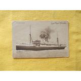 609-postal Barco Royal Hollandais S. S. Zeelandia