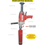 Perfuratriz Manual Tipo Serra Copo Diamantada 110v