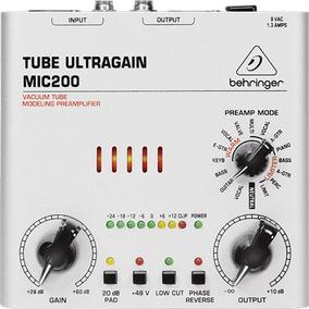 Pré-amp Tube Ultragain Mic200 - Pd0905