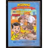 Dvd Midinho - O Pequeno Missionário- Davi E Golias - Vol.2