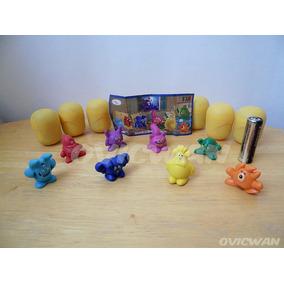 Colección Completa 8 Monstruos Colores Un0 Huevo Kinder Vt67