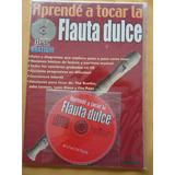 Revista Con Dvd Para Aprender A Tocar Flauta Dulce