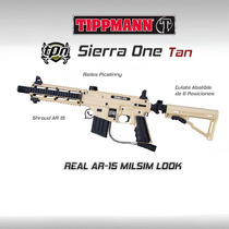 Tippmann Project Salvo Marcadora Gotcha Paintball Pistola