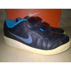Tenis Nike Infantil Tamanho 28 Original Couro Frete Grátis