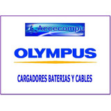 Batería Cargador Cable Usb Para Cámara Olympus