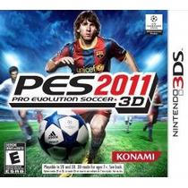 Pro Evolution Soccer 2011 3ds Nuevo Ei Pes2011