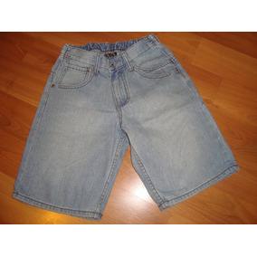 Hermoso Bermuda Maui De Jeans Talla 8 A Solo $ 6500