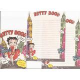 Conjunto De Papel De Carta Importado Betty Boop - Modelo 02