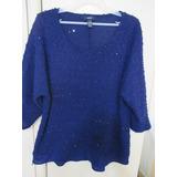 Blusa Malha Brilho Leve Gap Importado Original Plus Size