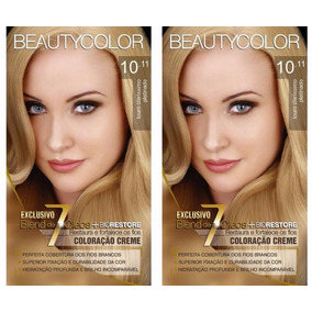 2 Tints Da Beauty Color Kit 10.11 Louro Claríssimo Platinado