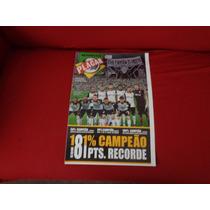 Revista Poster Corinthians Placar Hexa-campeão Cb 2015 81 P