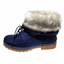 Padrísimos Botines Azul Marino Moda Invierno 2016