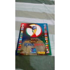 Album Copa 2002 Panini Vazio