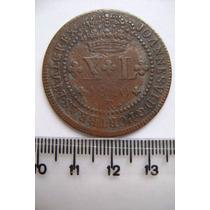 Rb2884 - Brasil Moeda Xl Réis 1820 R