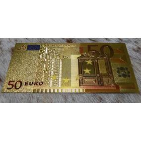 50 Euros - Eypo De Estampado A Ouro