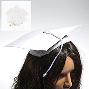 48 Birretes Blancos Por $ 99 Fiesta Graduación Escuelas