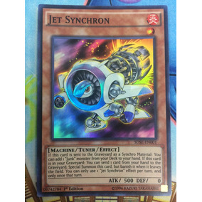 Yugioh Jet Synchron Con Envio Gratis