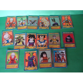 Cartas (16) Dragon Ball Z Dbz Rpg