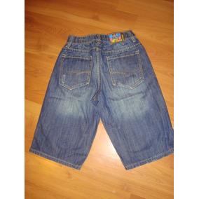 Hermoso Bermuda Maui De Jeans Talla 9 A Solo $ 8990