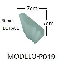 Roda-teto Roda Teto Isopor Substitui Gesso Moldura P019
