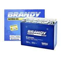 Bateria Yamaha Xv 1100 Virago 81 À 99 Brandy Gel Gtx24hl