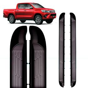 Estribo Lateral Abs Toyota Hilux 2016 2017 Modelo Original