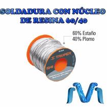 Rollo De Soldadura Núcleo De Resina 60/40 Para Electrónica