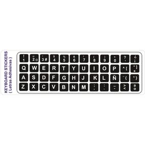 Letras Adhesivas Para Teclado Pc-portatil En Español