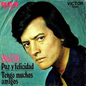 Palito Ortega - Paz Y Felicidad Simple Con Tapa