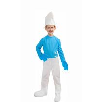Fantasia Smurf Infantil Completa Os Smurfs Rubies C/ Chapéu