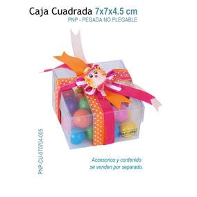 12 Cajas De Acetato Para Dulces,galletas,chocolates