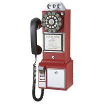 Telefono Tipo Antiguo Monedas Disco Tragamonedas 50
