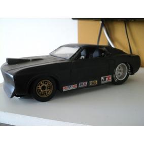 Miniatura Mustang Lata Drag Arrancada Customizado 1/18