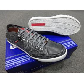 Zapato Brucap Zapatilla De Vestir Cuero Moderno 711 Gris