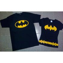 Playeras Batman Batichica, Camisas Iguales De Parejas Novios