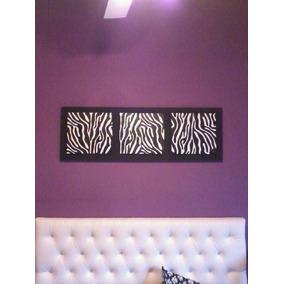 Cuadro Animal Print Trítptico