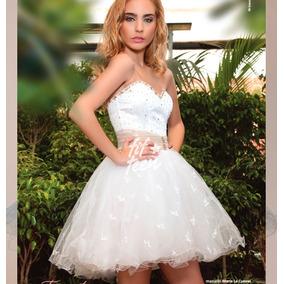 Vestido De 15 Años Corto - Modelo Amelie